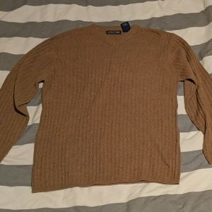 Structure wool sweater